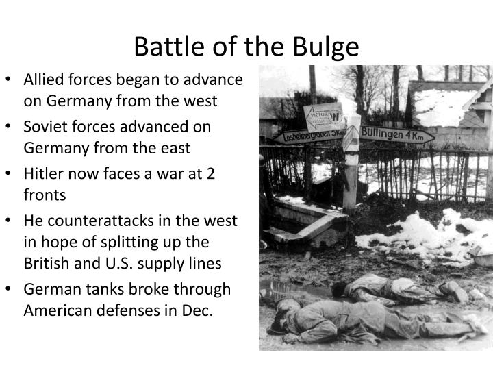 battle of the bulge n.