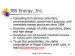 jbs energy inc