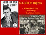 g i bill of rights