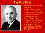 the fair deal