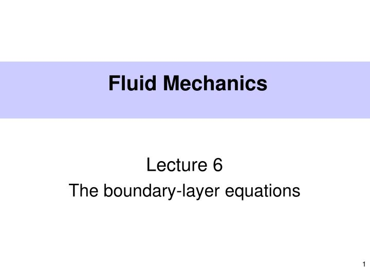 fluid mechanics n.