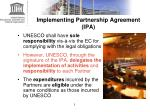 implementing partnership agreement ipa