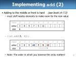 implementing add 2