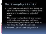 the screenplay script2