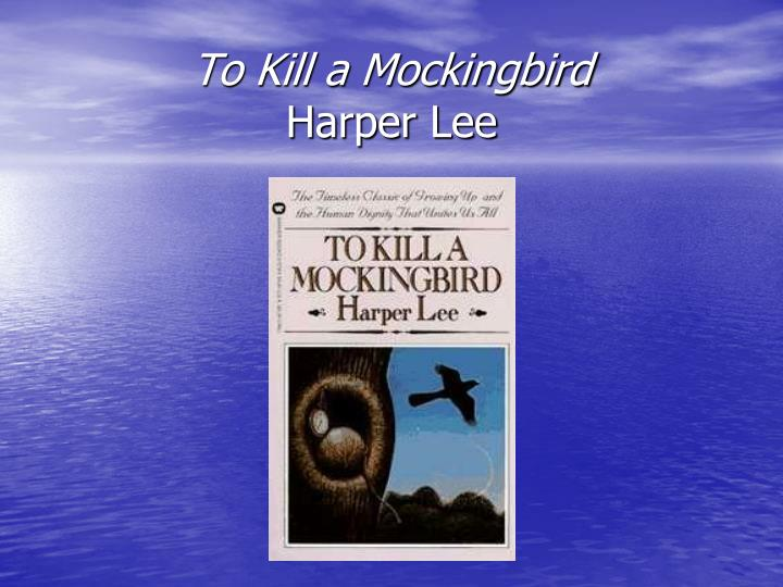 to kill a mockingbird harper lee n.