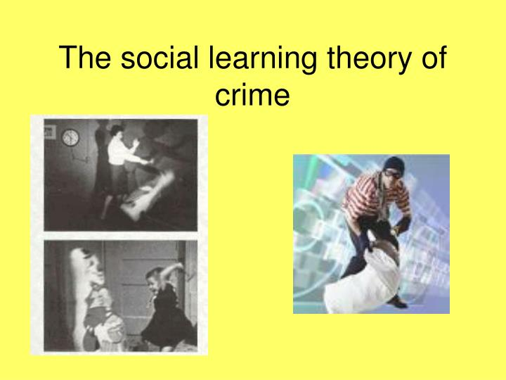 the social learning theory of crime n.
