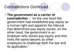 contradictions continued4