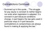 contradictions continued5