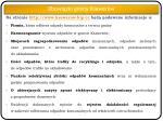 na stronie http www ksawerow bip cc b d podawane informacje o