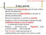 5 key points