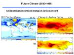 future climate 2030 1995