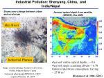 industrial pollution shenyang china and india nepal