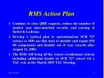 rms action plan