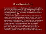 brand beautiful 1