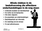 blinde vlekken in de besluitvorming die effectieve onderhandelingen in de weg staan