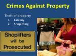crimes against property2