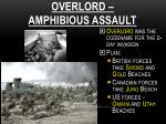overlord amphibious assault