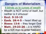 dangers of materialism1