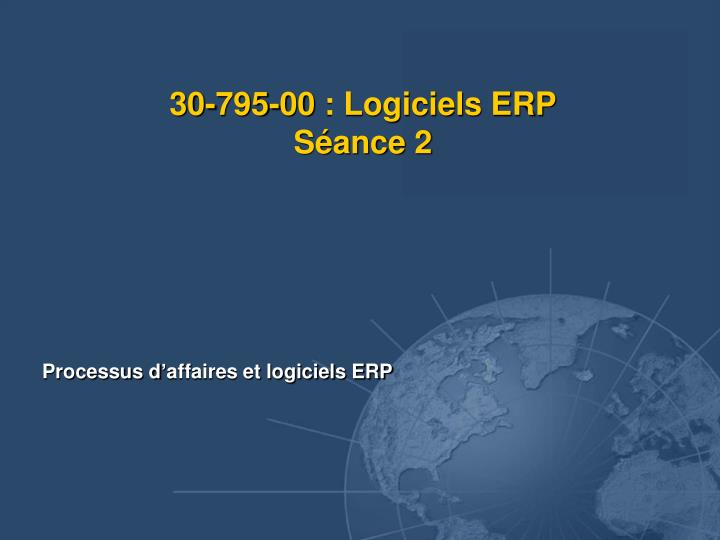 30 795 00 logiciels erp s ance 2 n.