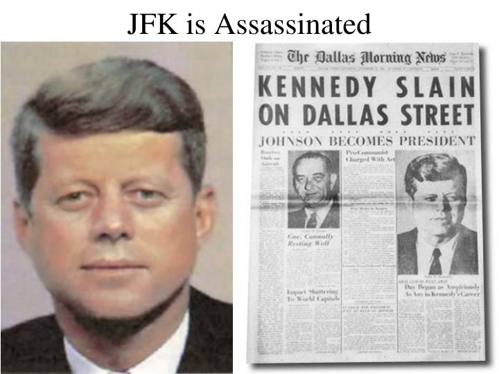 jfk is assassinated n.