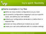 ivy s spirit flexibility3