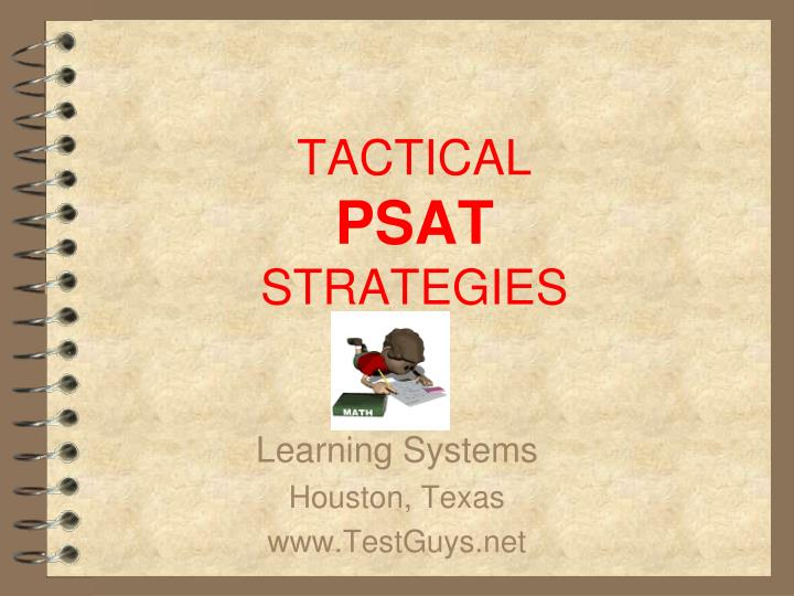 tactical psat strategies n.