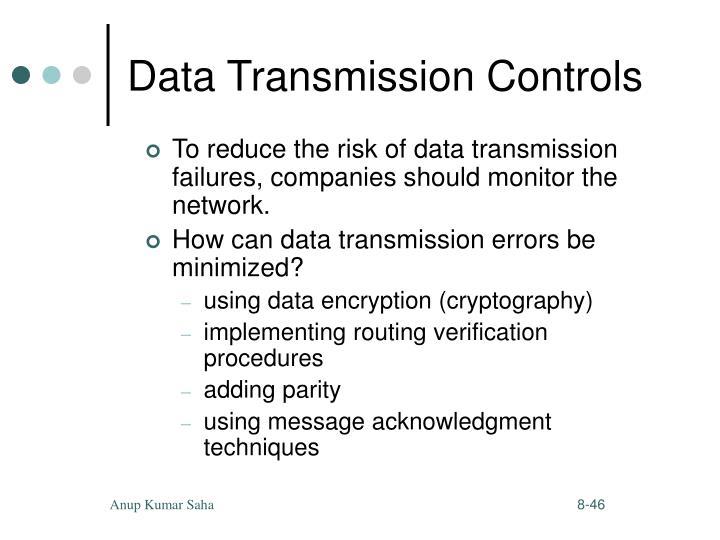Data Transmission Controls