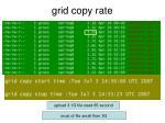 grid copy rate