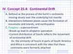 iv concept 25 4 continental drift