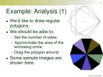 example analysis 1