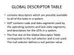 global descriptor table1