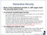 declarative security1