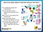 what s so great about ip and why should i pay for it1
