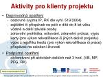 aktivity pro klienty projektu1