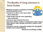 the benefits of using literature in social studies2