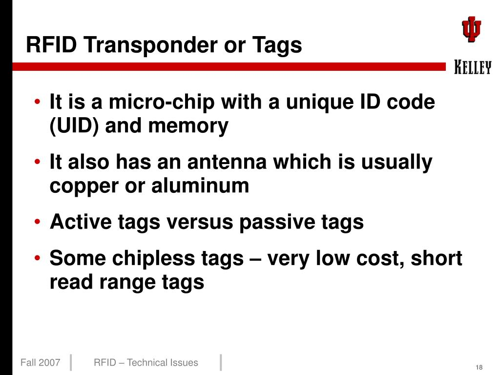 PPT - RFID Technical Issues PowerPoint Presentation - ID:5636754