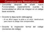 consejos para reestructurar1