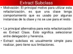 extract subclass1