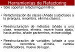 herramientas de refactoring2