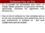 software hoy en d a1