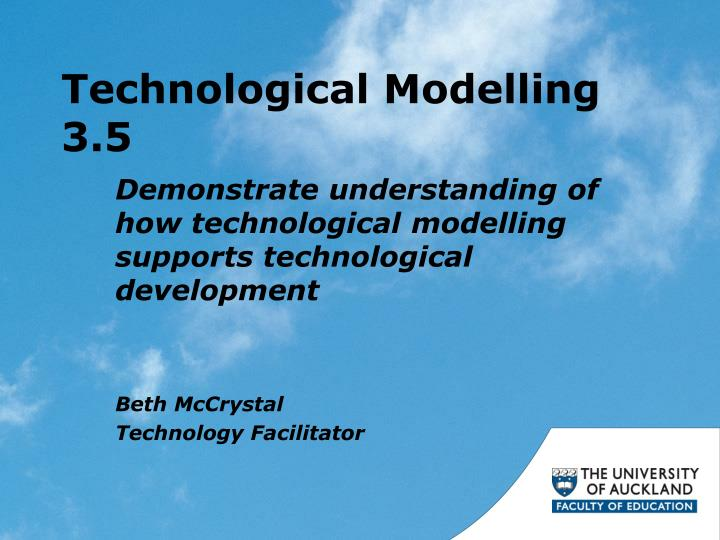 technological modelling 3 5 n.