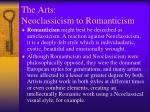 the arts neoclassicism to romanticism6
