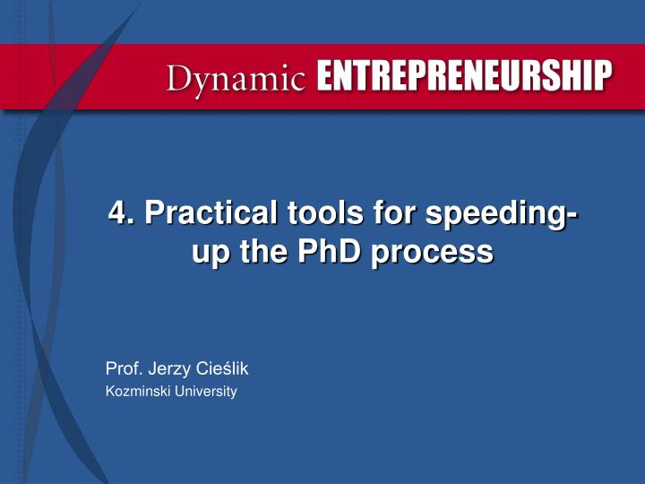 4 practical tools for speeding up the phd process n.