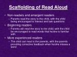 scaffolding of read aloud
