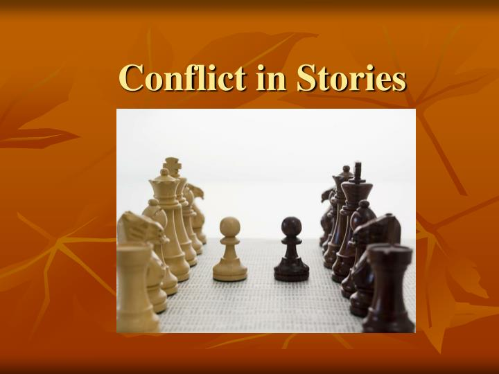 conflict in stories n.