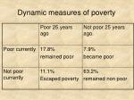 dynamic measures of poverty2