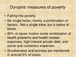 dynamic measures of poverty3