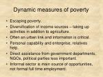 dynamic measures of poverty4
