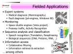 fielded applications