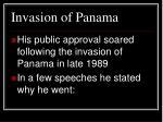 invasion of panama